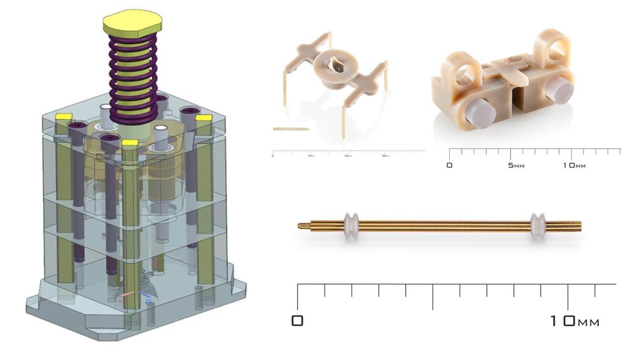 Mikrospritzgusswerkzeuge