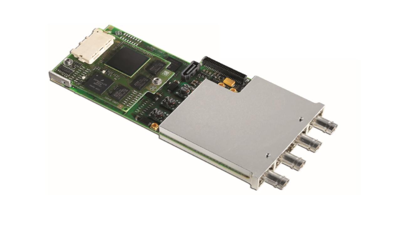CMW-B400B audio board with CMW-B405A speech codec option installed.