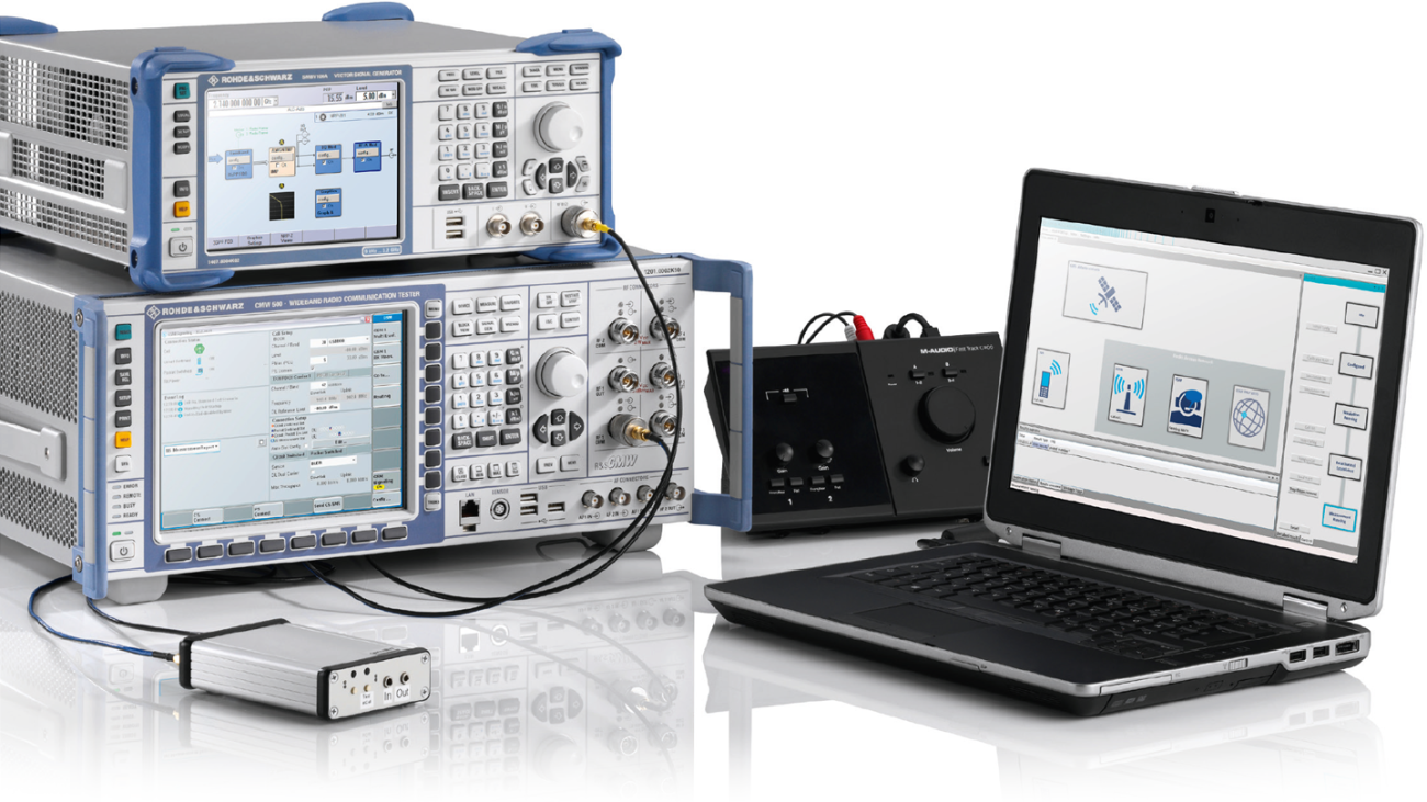 R&S®CMWrun conformance testing solution for eCall/ERA-Glonass.