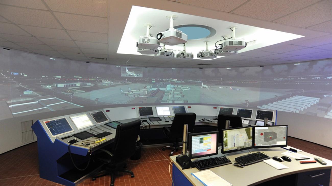 Simulator- und Schulungssystem von ROMATSA