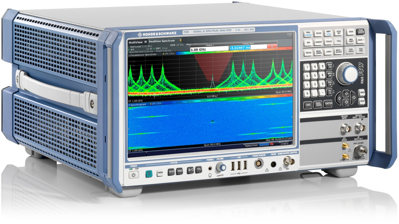 FSW signal and spectrum analyzer