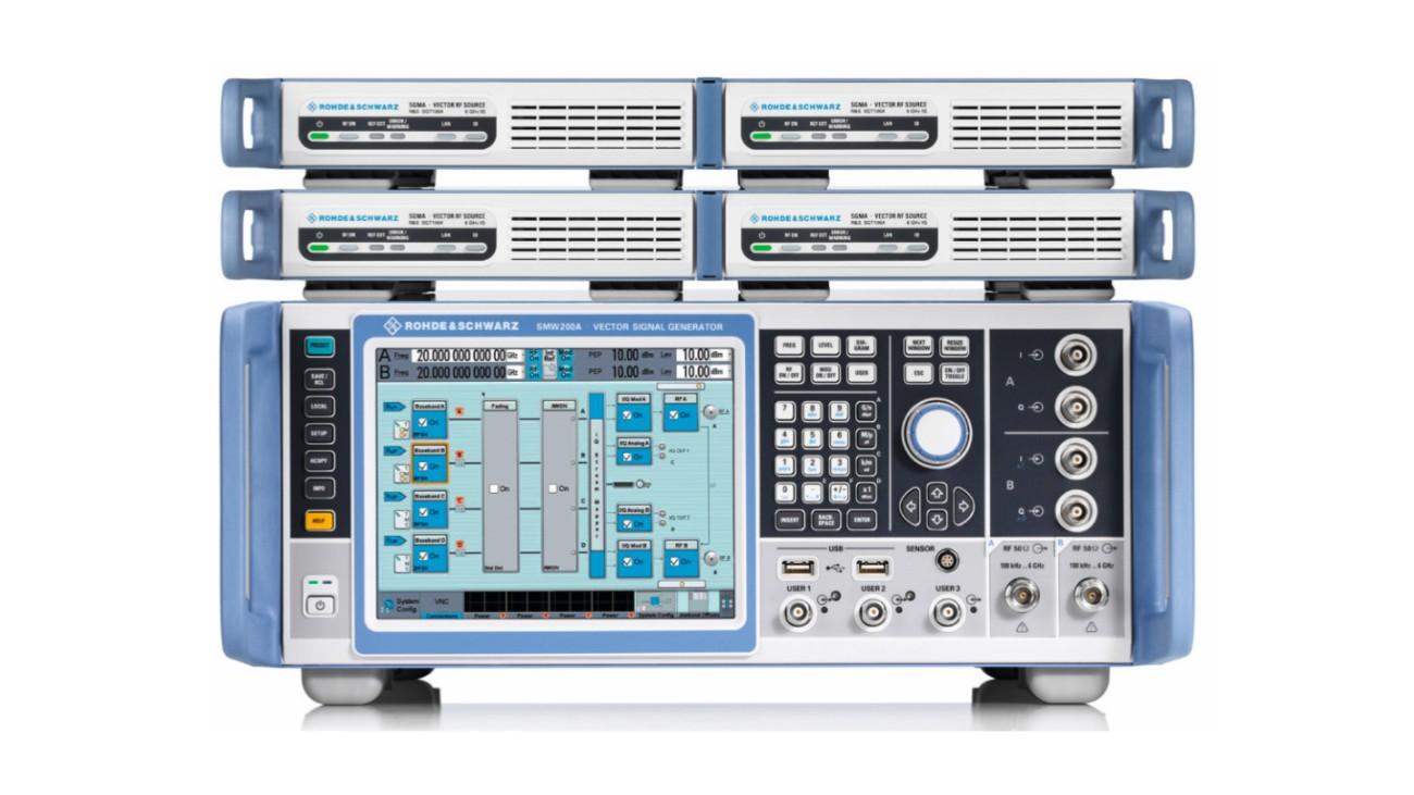 Компактное решение для формирования четырехканальных тестовых сценариев на частоте до 20 ГГц.