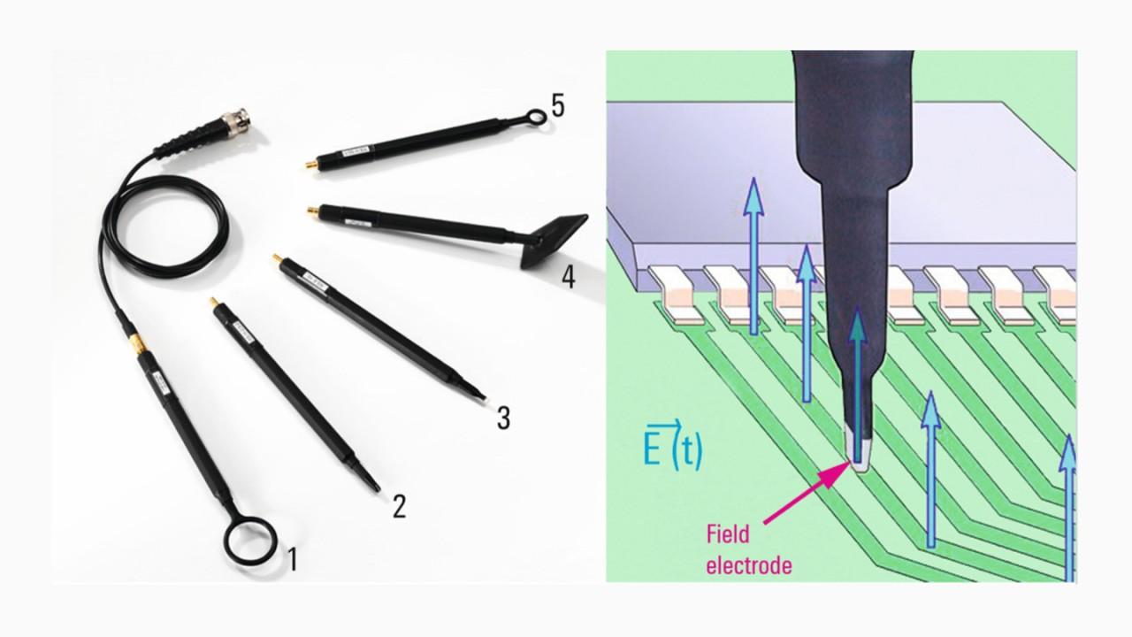 Passive probes for various near-field measurement tasks