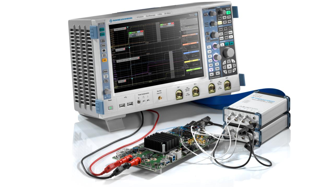 Strommessungen an IoT-Geräten mit hoher Messdynamik – RTO2044