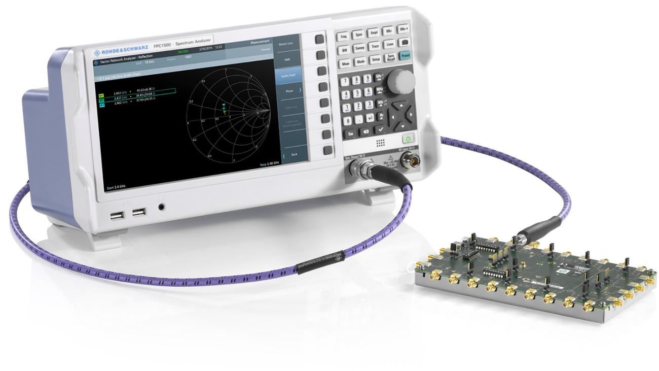 FPC1500 measuring port on RF device