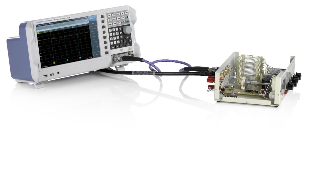 Adaptación de la red conectada a FPC1500 y el cable de antena