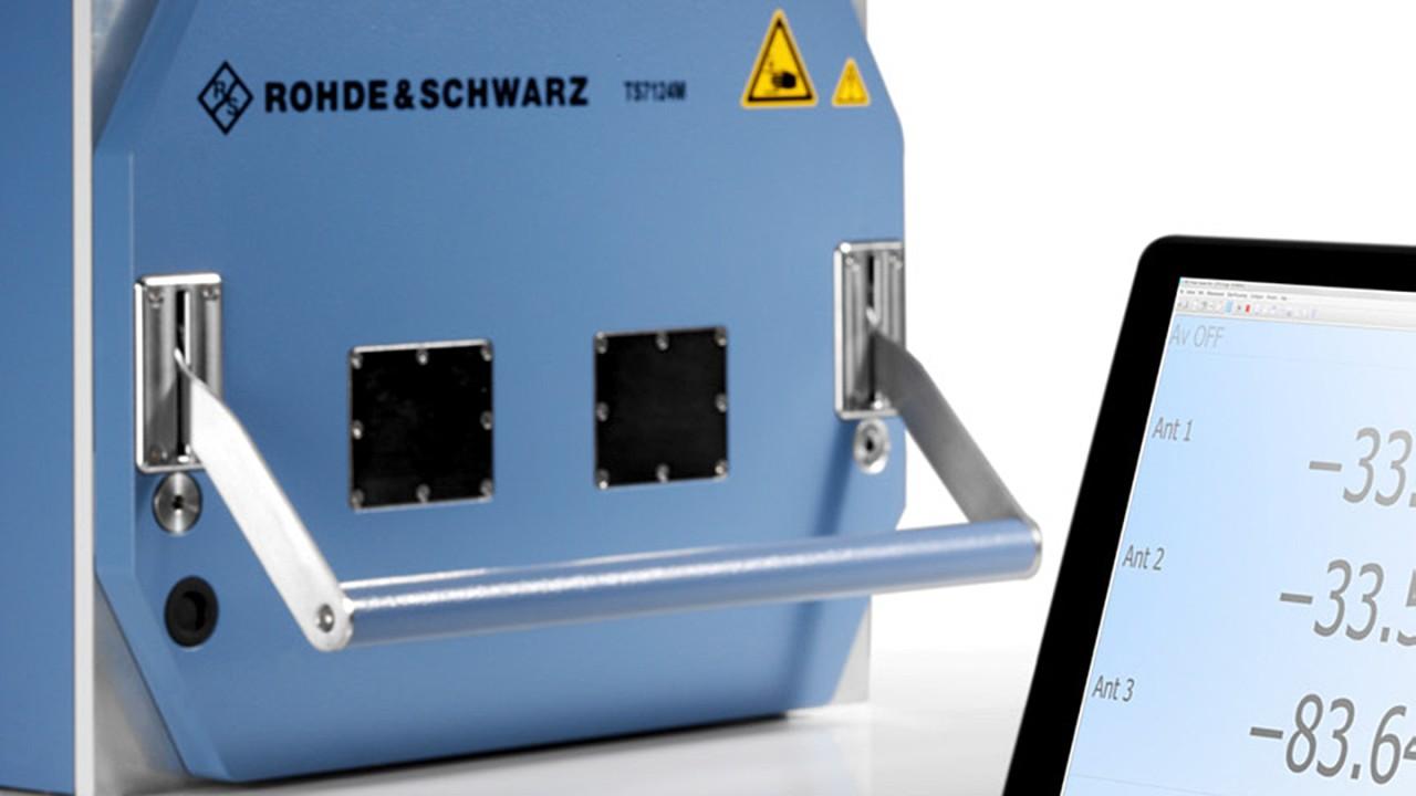 R&S®TS7124 shielded RF test box