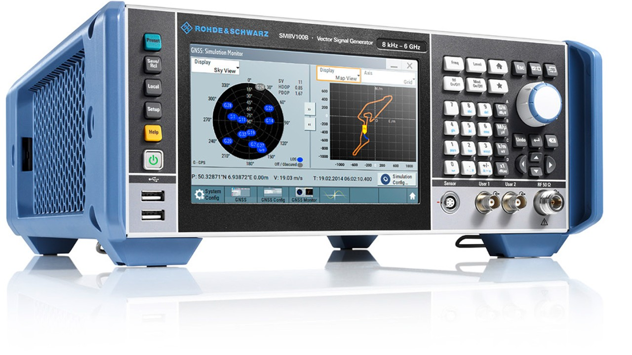 R&S®SMBV100B GNSS-Simulator