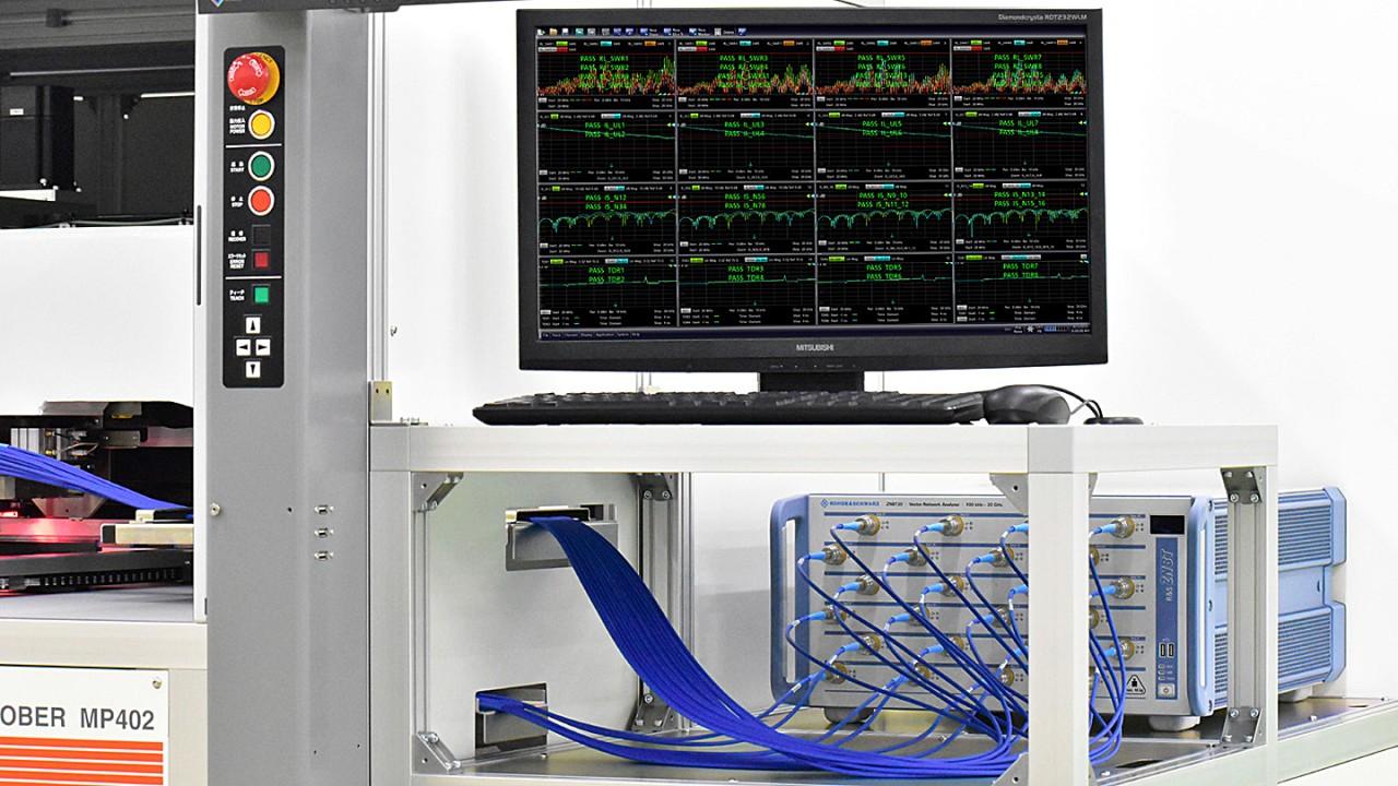 Der R&S®ZNBT ist ein Mehrtor-Vektornetzwerkanalysator mit bis zu 24integrierten Messtoren. Wenn es auf Geschwindigkeit ankommt, bietet diese VNA-Plattform ausgezeichnete Mehrtor-Messungen.