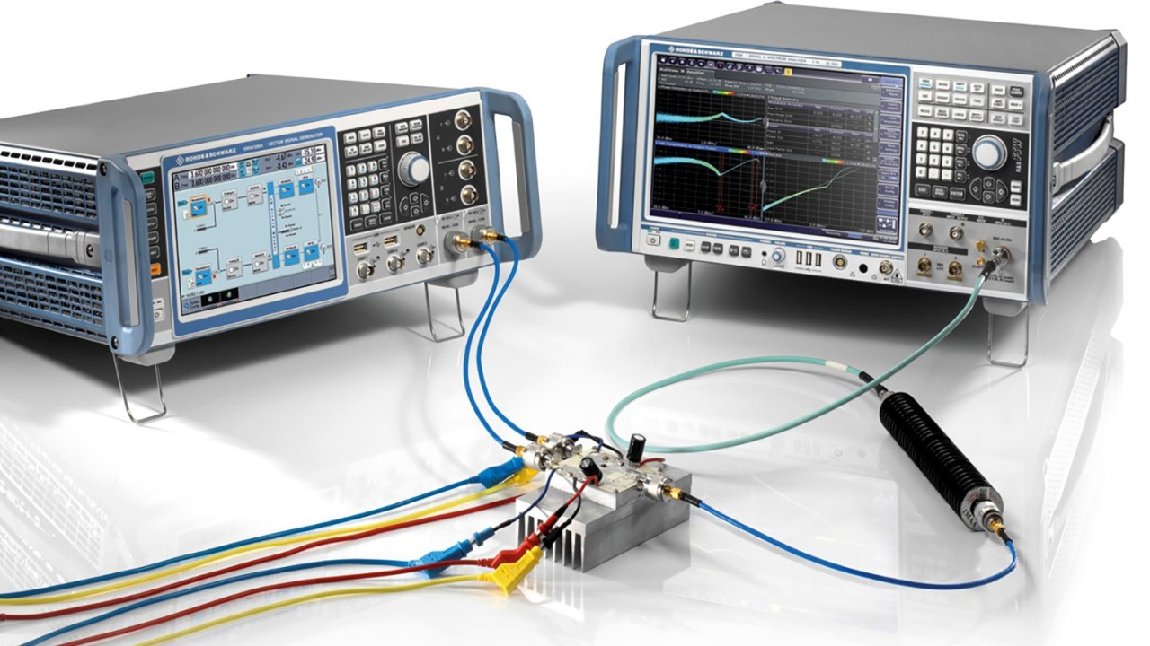 The dream team for verifying wideband power amplifiers- SMW200A and FSW