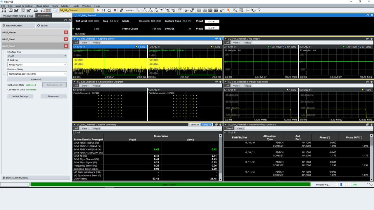VSE-K146 5G MIMO measurements option