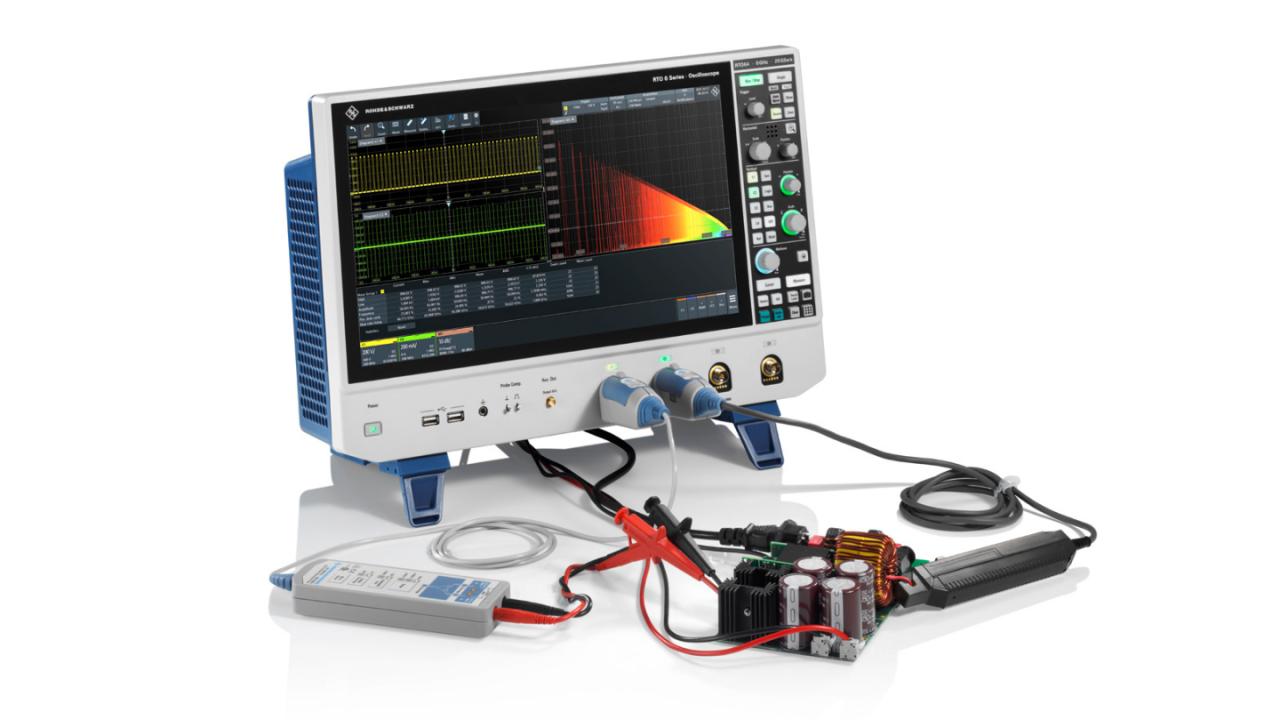 R&S®RTO oscilloscope