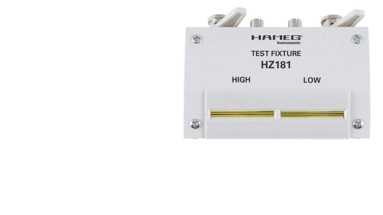 R&S®HZ181 4-terminal test fixture