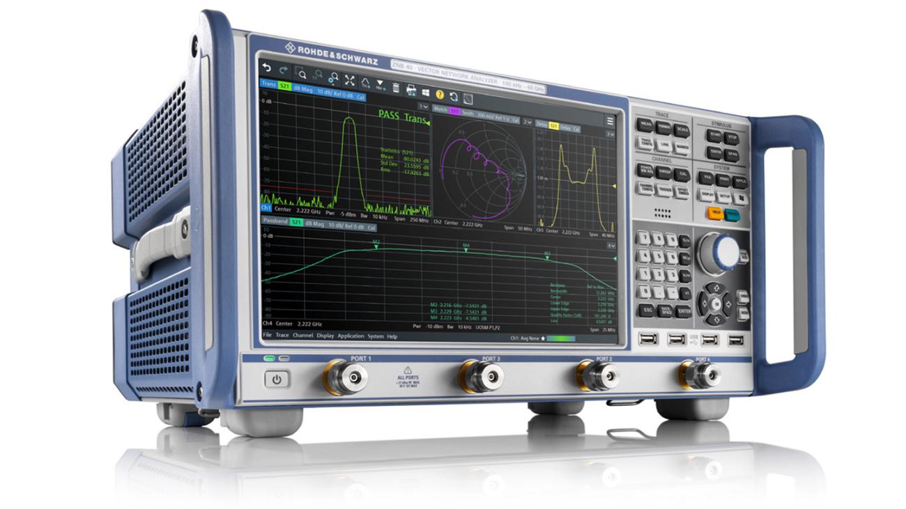 R&S®ZNB vector network analyzer