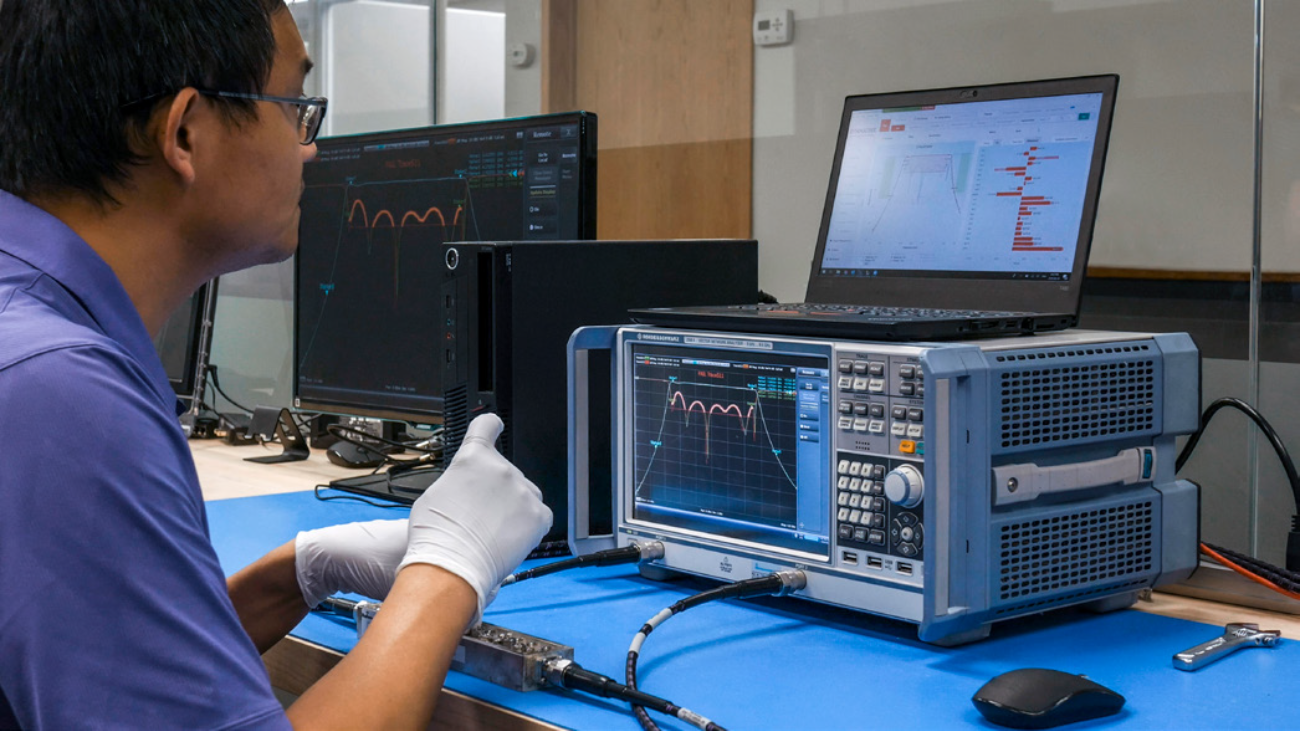 Rohde & Schwarz-SynMatrix tuning solution setup