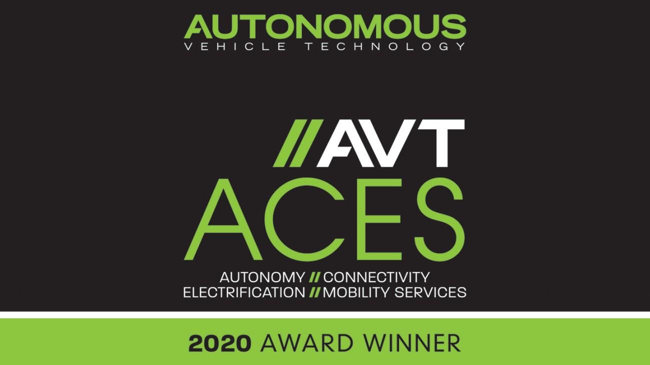 AVT ACES award winner 2020