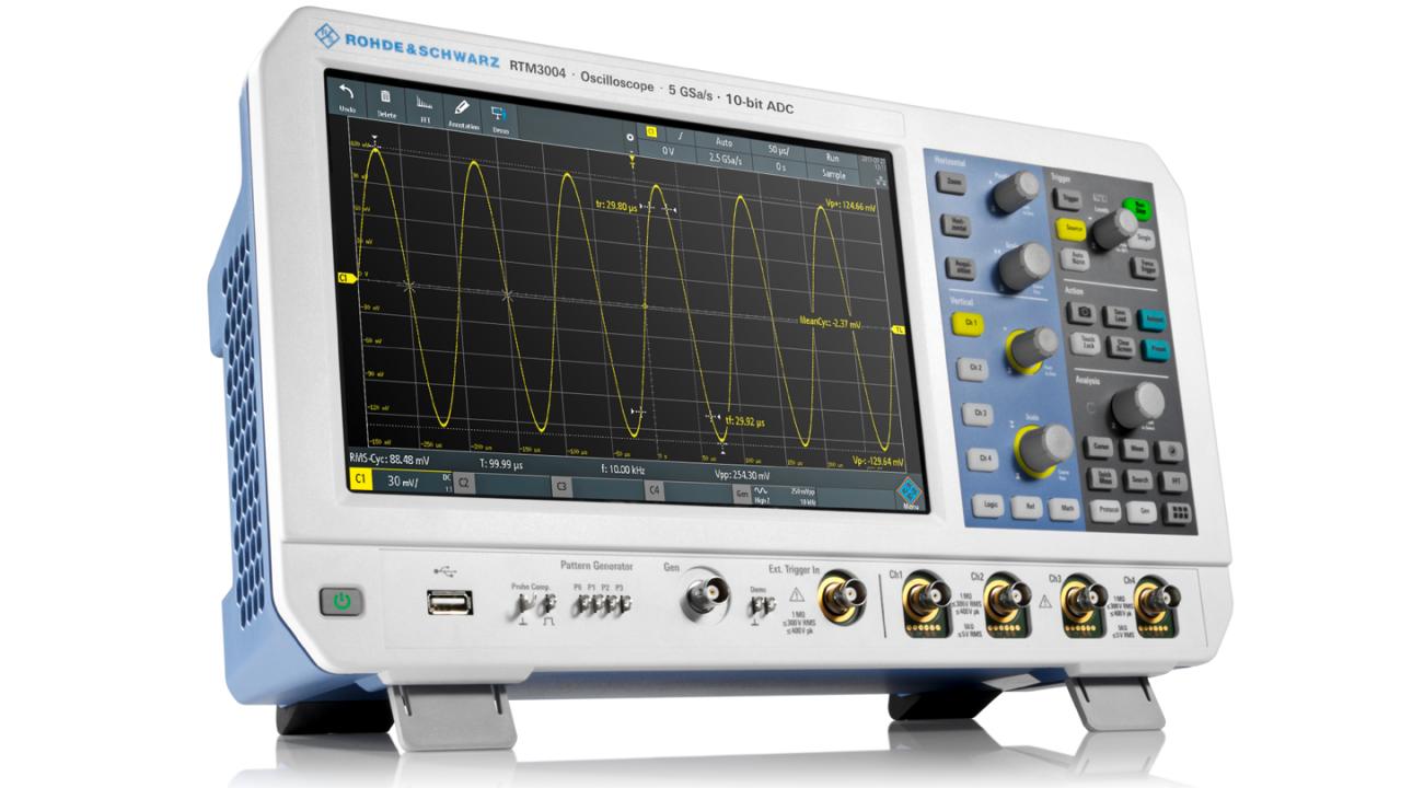 Power supply soft‑start analysis - RTM3000 and RTA4000