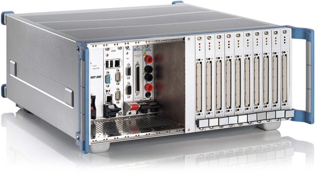 R&S®CompactTSVP test system versatile platform based on CompactPCI and PXI