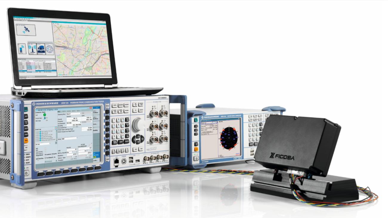 Test setup for vehicle emergency services (eCall, ERA-GLONASS, NG eCall).