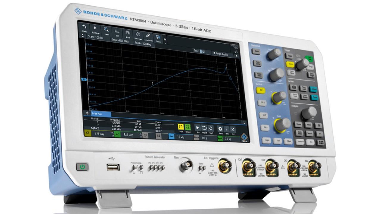 RTM3004 - oscilloscope