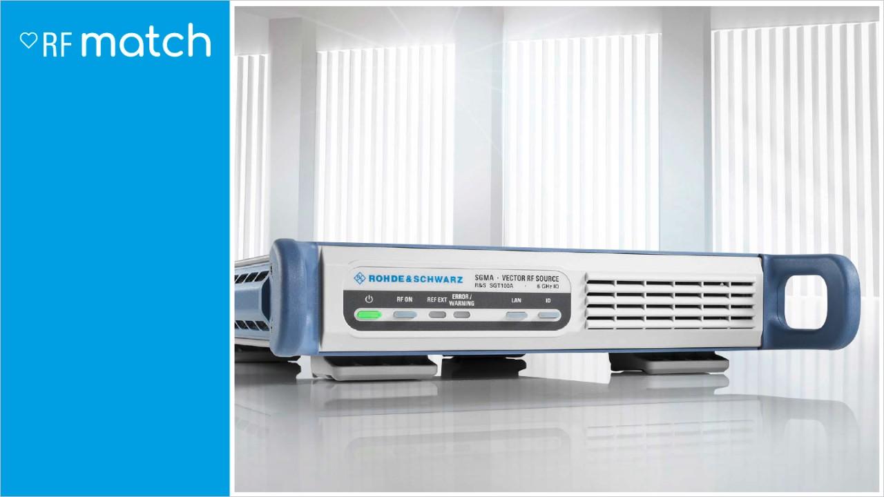 Rohde-Schwarz-Signal-Generator-RFMatch-SGS100A