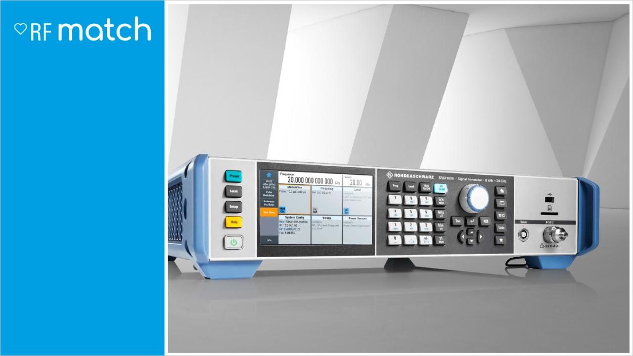 Rohde-Schwarz-Signal-Generator-RFMatch-SMA100B