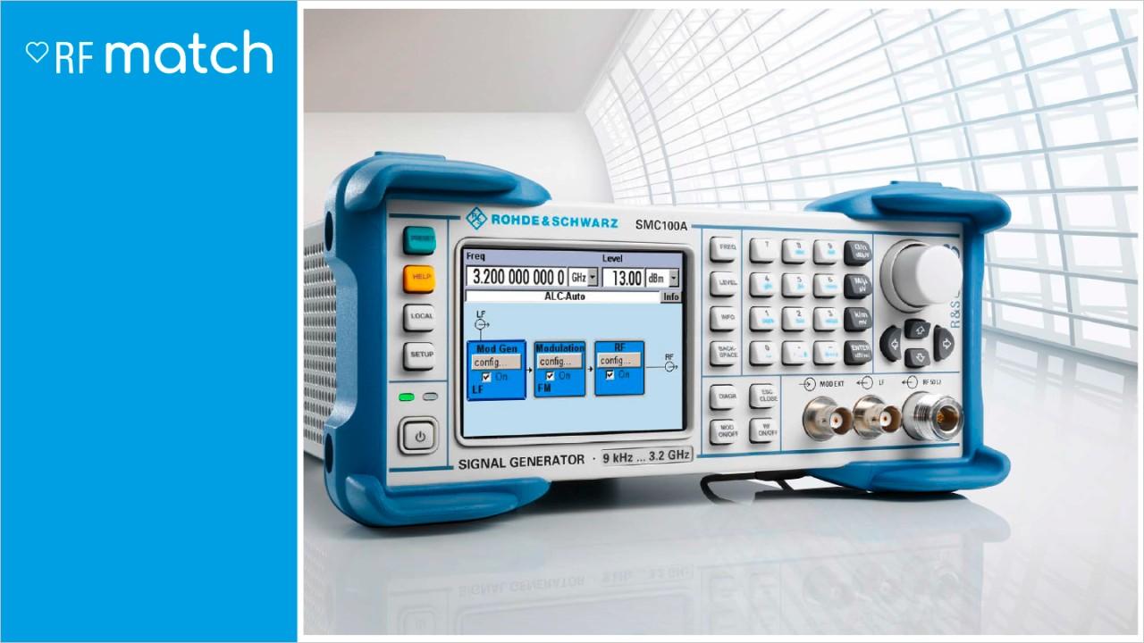 Rohde-Schwarz-Signal-Generator-RFMatch-SMC100A