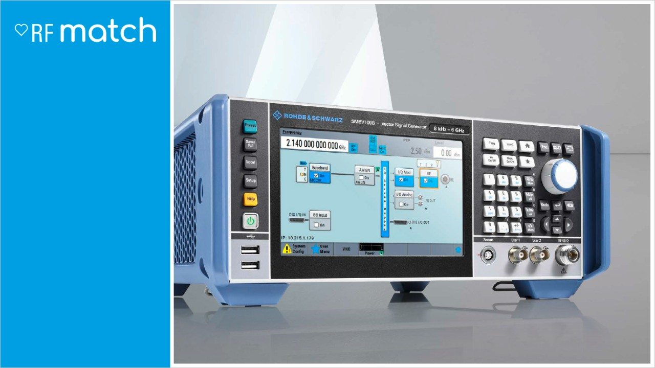 Rohde-Schwarz-Signal-Generator-RFMatch_SMBV100B