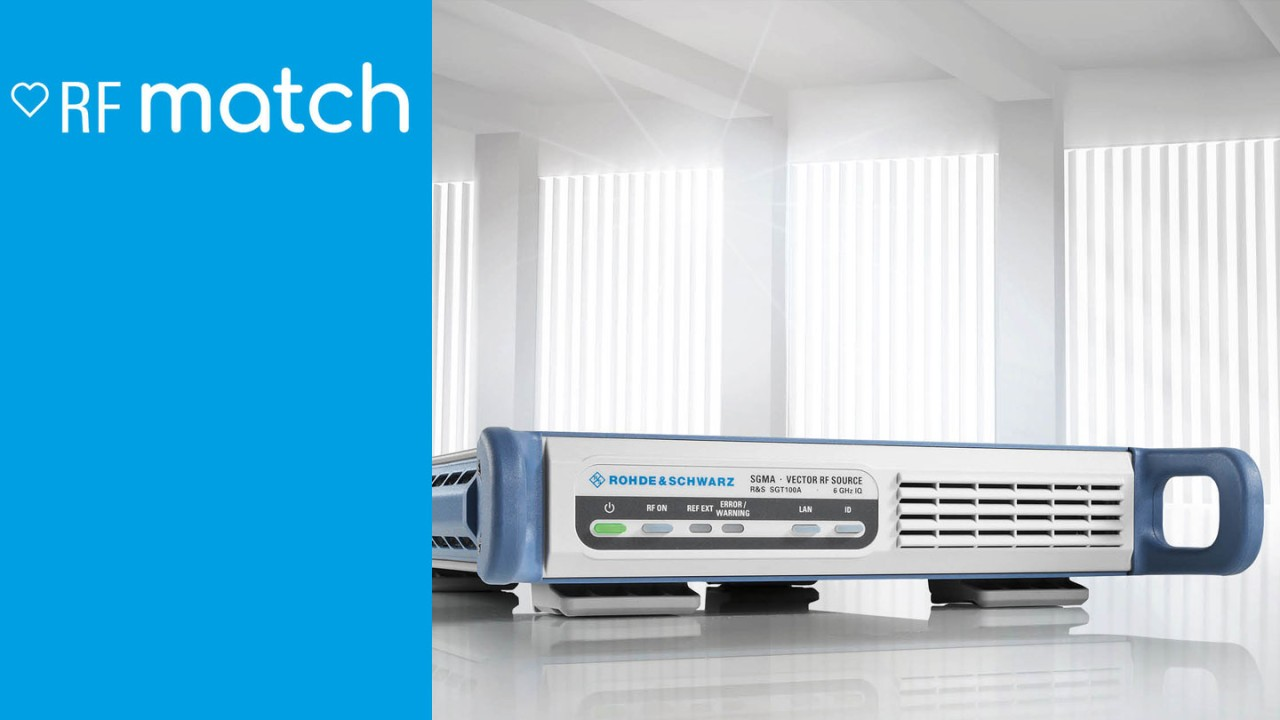 Signal Generator RF Match - SGT100A