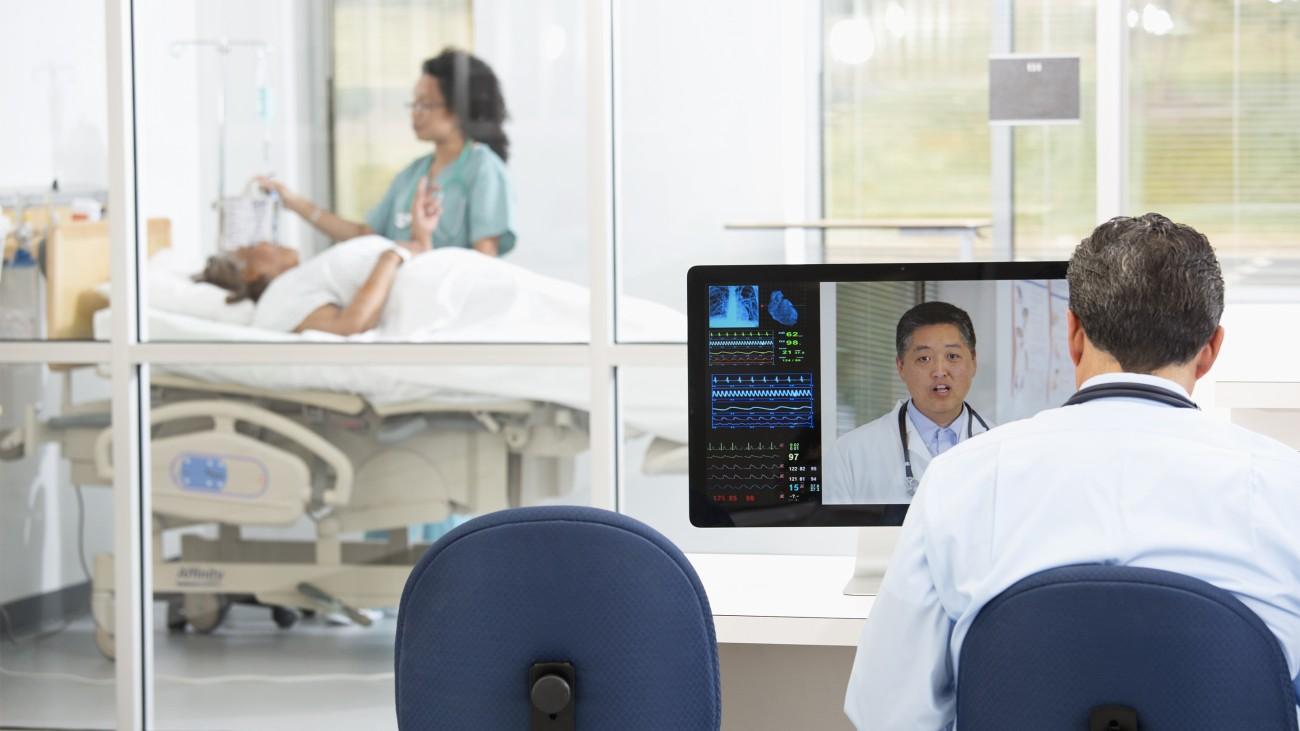 En las zonas poco habitadas, donde el personal y las instalaciones sanitarias escasean, el 5G permite hacer realidad el concepto de telemedicina.