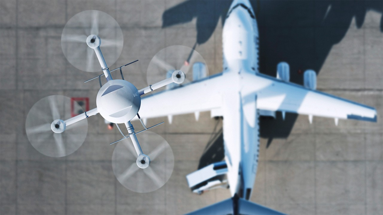 German air traffic controllers have registered 158 hindrances to scheduled air traffic at German airports due to drones.