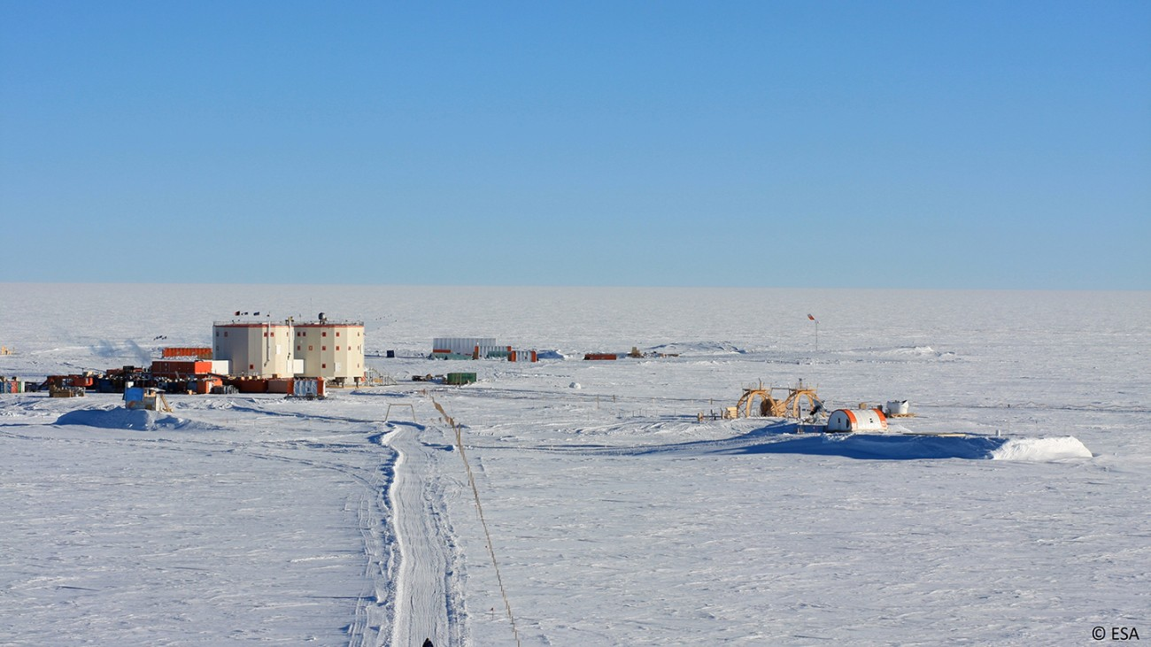 The Italian-French Concordia Research Station has been manned year-round since 2005.