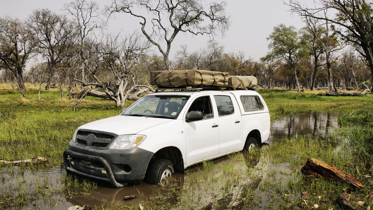 """In Africa, you have to bring a little spirit of adventure to test drives."""