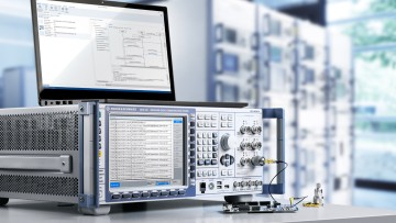 Rohde & Schwarz and COMPRION offer combined test solution