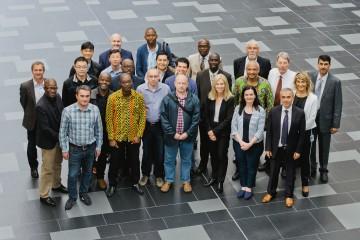 Die Teilnehmer der ITU Academy bei Rohde & Schwarz in München