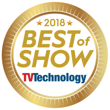 The R&S TLU9 GapFiller received the Best of Show Award 2018.