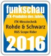 R&S Scope Rider digital handheld oscilloscope from Rohde & Schwarz is the 2016 ICT Product of the Year