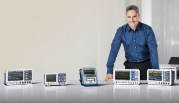 Rohde & Schwarz will be exhibiting at booth 6-239 its new power-of-ten oscilloscope families R&S RTB2000, R&S RTM3000 and R&S RTA4000 and in addition the handheld oscilloscope R&S RTH.