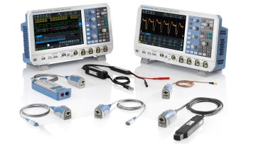 "Rohde & Schwarz will display the R&S RTM3000 and R&S RTA4000 oscilloscopes under the banner ""Three tasks in one device"""