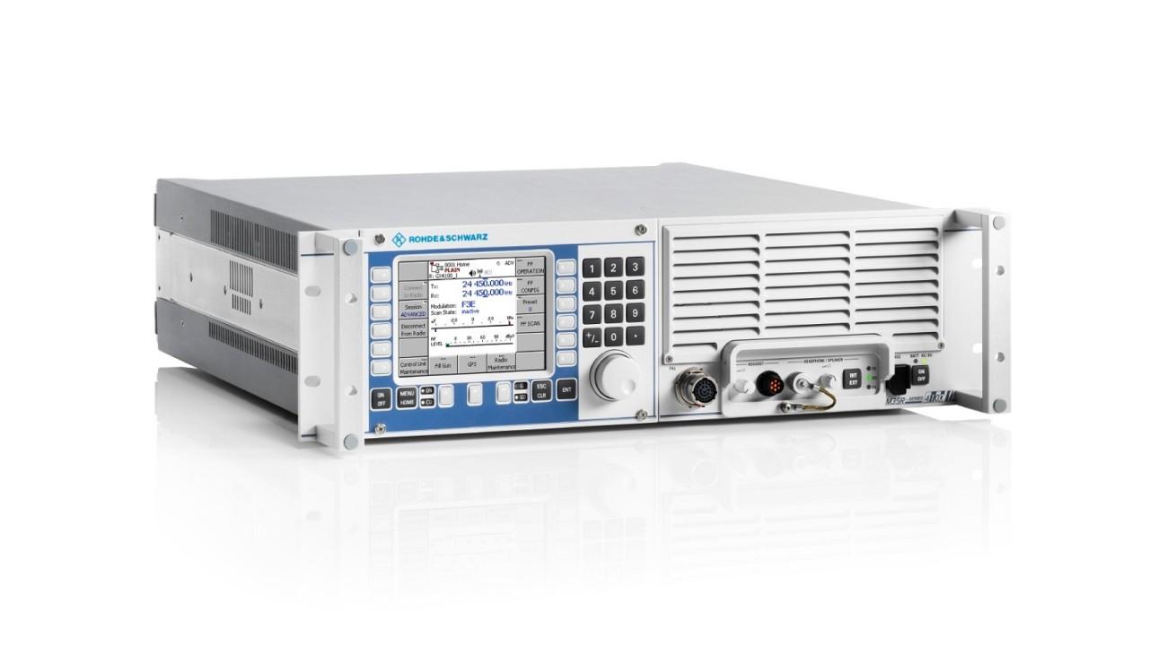 The R&S M3SR Series4100 HF radios are innovative, versatile software defined radios.