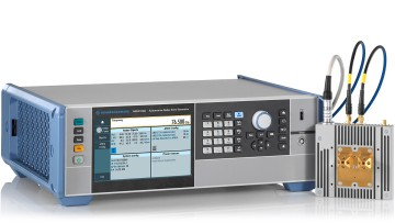 Reliable and future-proof production tester for automotive radar sensors R&S AREG100A