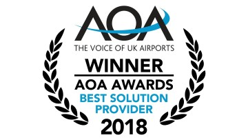 AOA Award for R&S security scanner installation at Edinburgh Airport