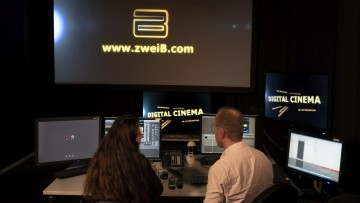 zweiB uses R&S CLIPSTER for DCI and IMF mastering during post production.