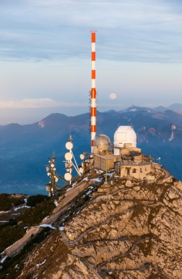 Test broadcasts from the Wendelstein broadcasting station as well as other locations in Munich starting in the fall of 2018.