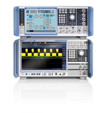 R&S SMW200A und R&S FSW erzeugen und analysieren 5G-Signale basierend auf den Vorgaben der Verizon Open-Trial-Specifications.