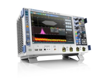 The new test options for the R&S RTO2000 series oscilloscopes with a bandwidth of 6 GHz make these instruments ideal for testing fast communications interfaces.