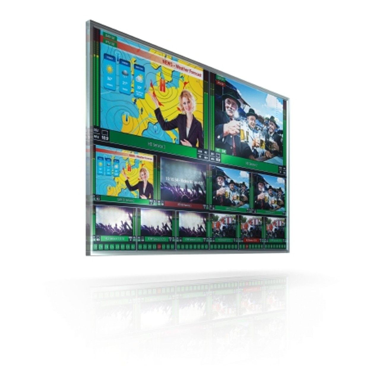 Cost-efficient monitoring and multiviewing solution R&S PRISMON from Rohde & Schwarz for broadcast and streaming media