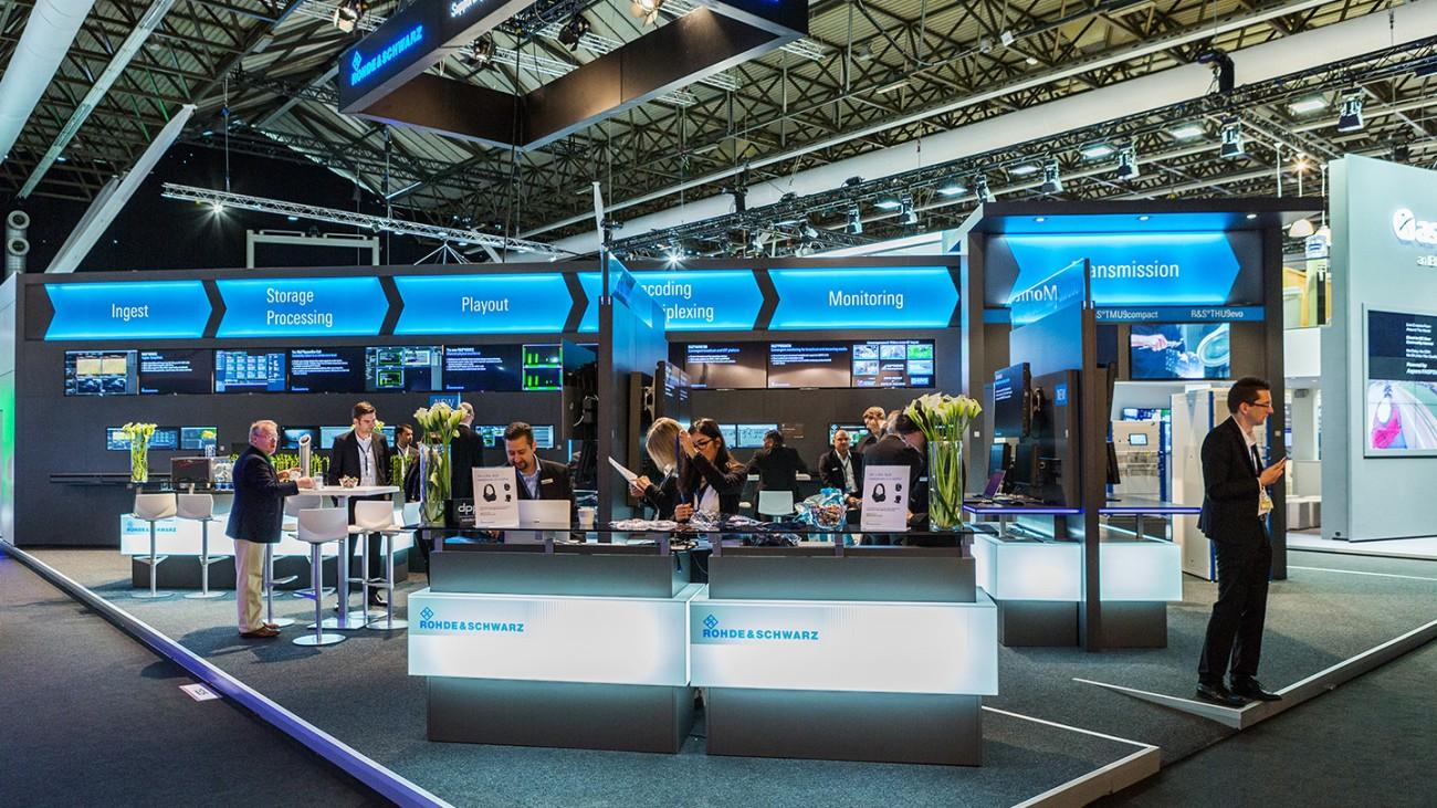 Rohde & Schwarz Trade Fairs