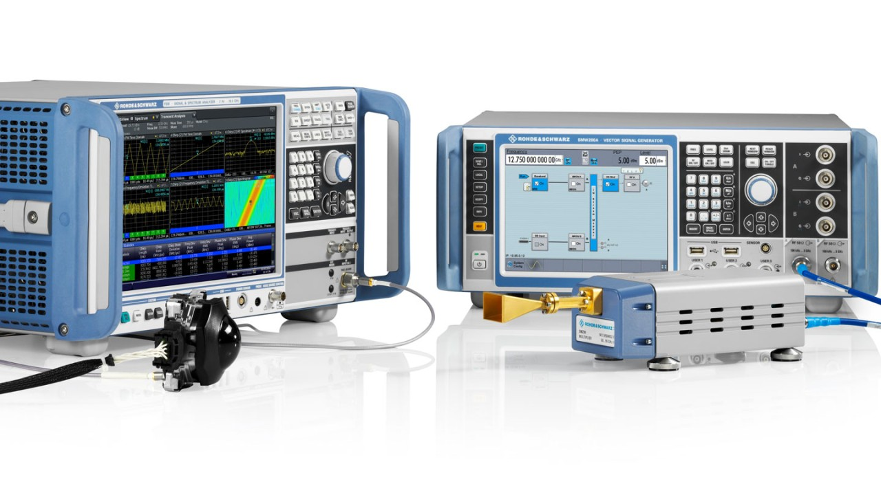 T&M highlights at the Rohde & Schwarz booth