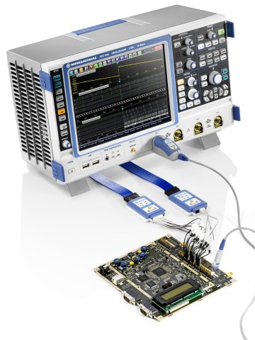 rohde \u0026 schwarz oscilloscope with mso functionality allows quickrohde \u0026 schwarz oscilloscope with mso functionality allows quick, accurate testing of complex embedded designs
